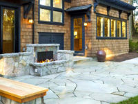 Bend-Oregon-paver-patio-with-fireplace