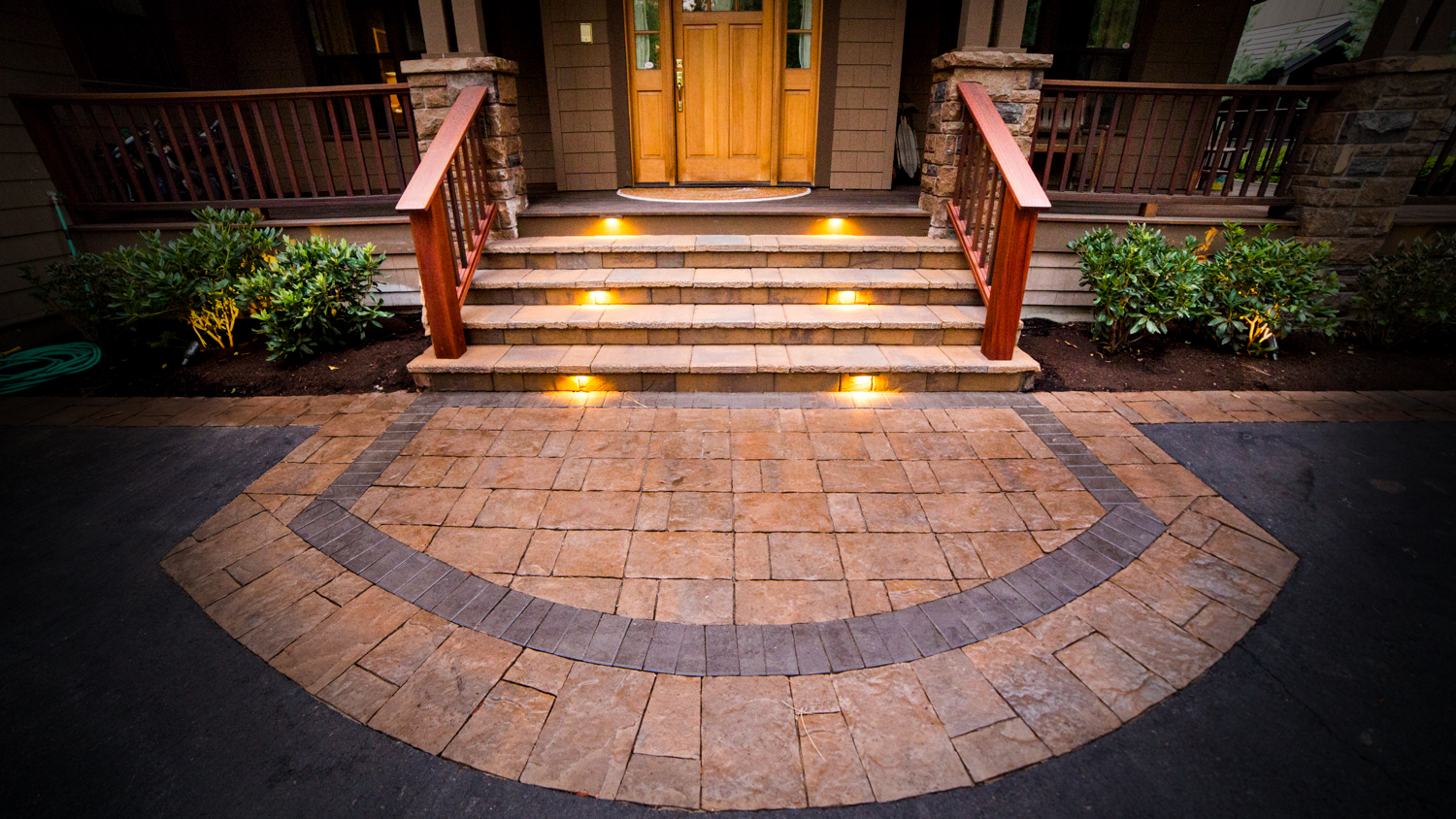 Paver Patios And Walkways Newport Ave Landscaping