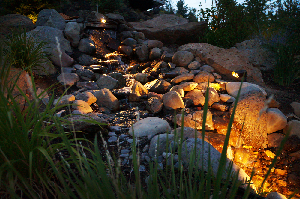 Landscape Lighting Project Nw Bend Oregon Newport Ave