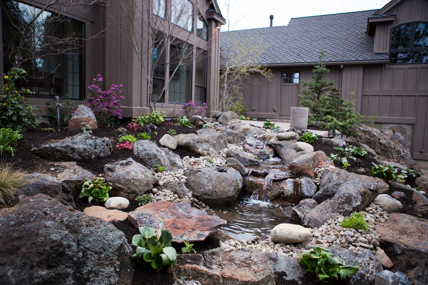 our work newport ave landscaping