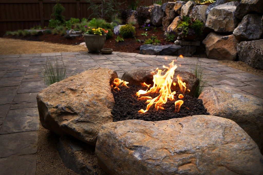 Fire pit in Bend Oregon