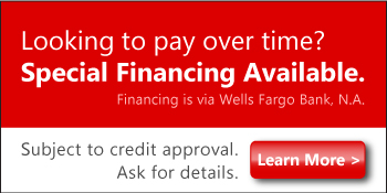 Special Financing Available Banner